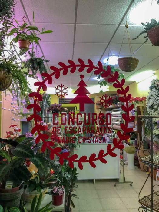 Concurso de escaparates de Navidad Barrio Oeste Labic Cristasa Impulsa Gijón 2018