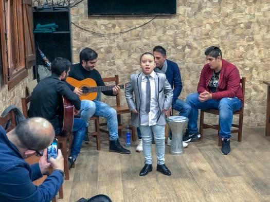 Grupo flamenco Gijón espicha Navidad Cristasa Gijón Impulsa 2018