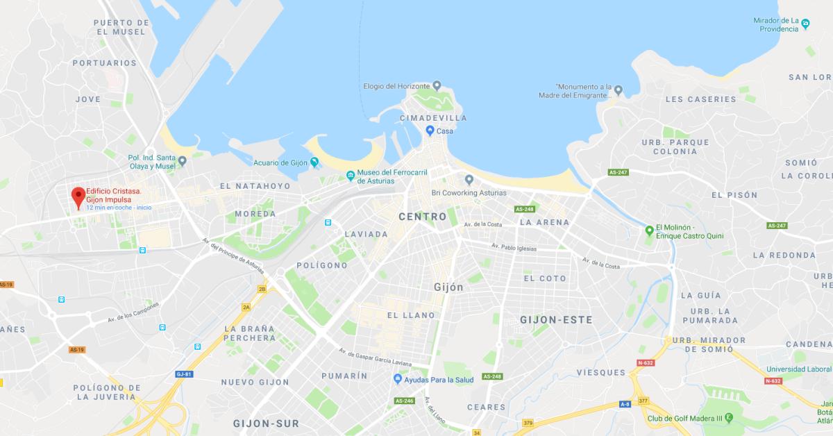 Labic Cristasa Impulsa Gijón La Calzada Barrio Oeste