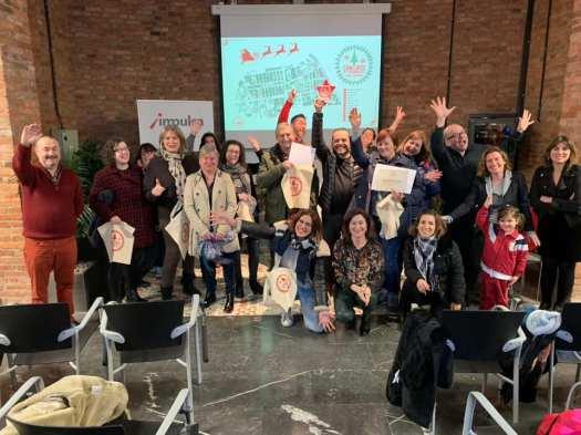 entrega de premios concurso de escaparates navidad 2018 labic cristasa gijón impulsa