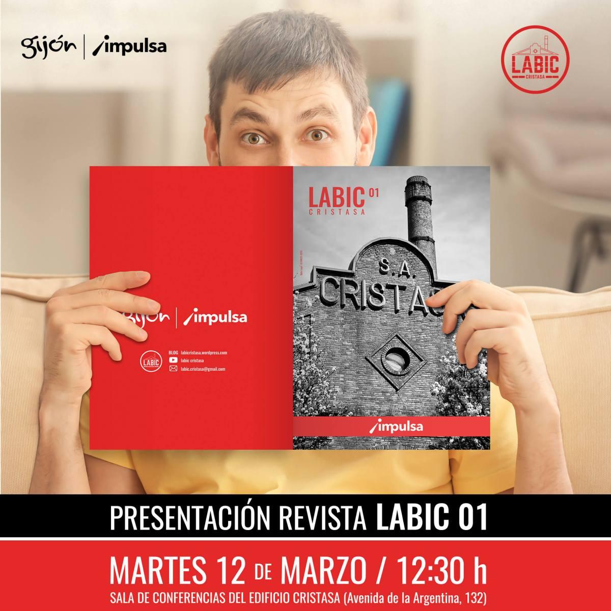 Presentación Revista LABIC Cristasa Impulsa Gijón