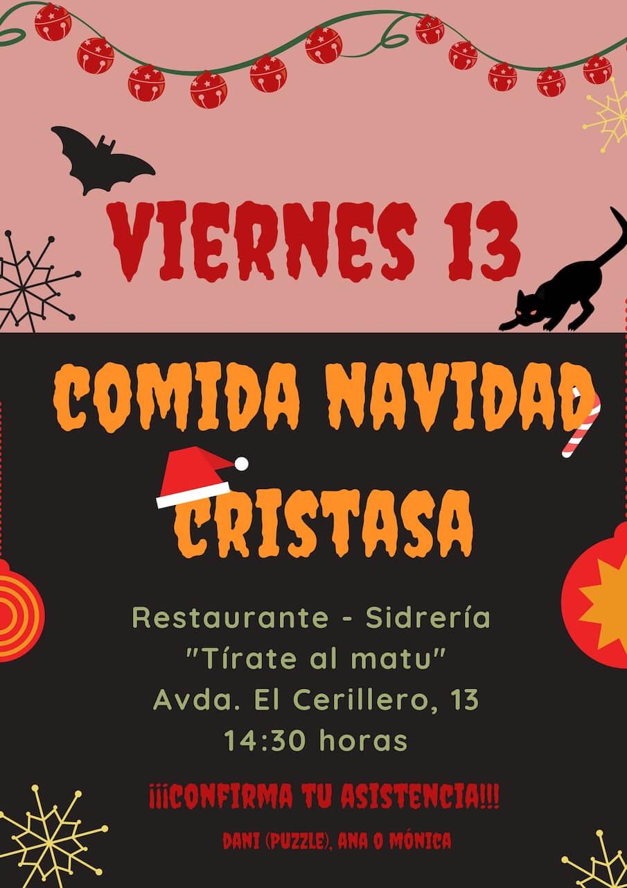 Comida Navidad 2019 Comunidad Cristasa Gijón Impulsa