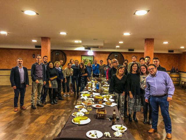 Espicha de Navidad Comunidad Cristasa Gijón Impulsa 2019