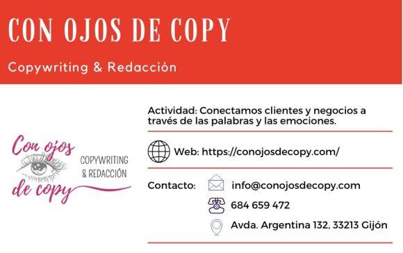 Con Ojos de Copy Edificio Cristasa Gijón Impulsa