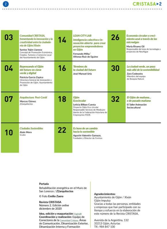 Revista CRISTASA02 Gijón Futura