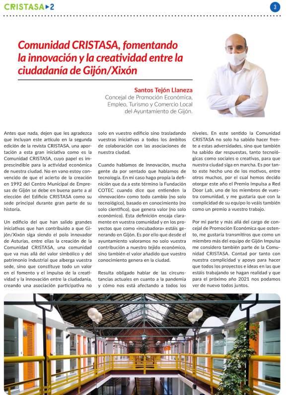 Gijón Futura Revista CRISTASA número 2